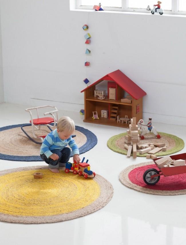 Ковер в комнате ребенка обязательно должен быть экологически безопасным