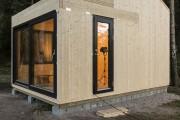 Фото 6 Дачные домики для 6 соток (проекты, 53 фото): мал золотник, да дорог!