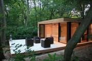 Фото 1 Дачные домики для 6 соток (проекты, 53 фото): мал золотник, да дорог!