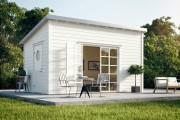 Фото 21 Дачные домики для 6 соток (проекты, 53 фото): мал золотник, да дорог!