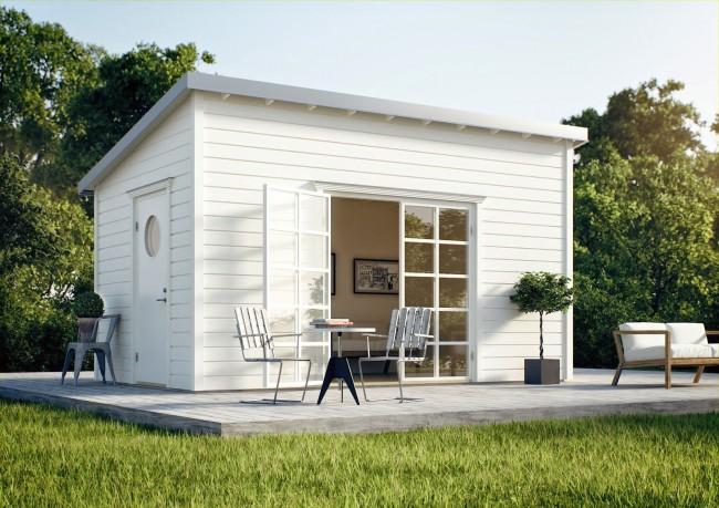 Простотой и наполненный уютом функционально спланированный дом
