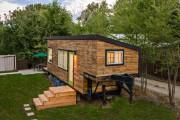 Фото 24 Дачные домики для 6 соток (проекты, 53 фото): мал золотник, да дорог!
