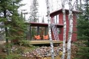 Фото 33 Дачные домики для 6 соток (проекты, 53 фото): мал золотник, да дорог!