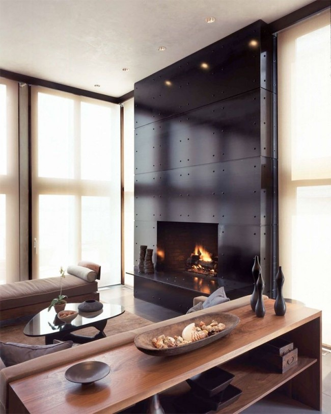 Благодаря камину ваш дом всегда будет наполнен теплом