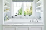 Фото 14 Экраны для ванны (52 фото): виды, материалы, процесс установки