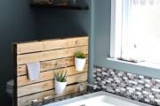 Фото 19 Экраны для ванны (52 фото): виды, материалы, процесс установки