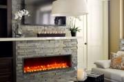 Фото 4 Электрический камин с эффектом живого пламени: огонь, которого нет