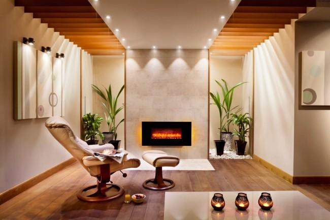 Электрокамины – это решение для многоквартирных домов, где установка других типов каминов весьма затруднительна, а порой и невозможна.