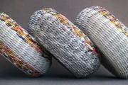 Фото 6 Плетение корзин из газетных трубочек: мастер-классы и советы для рукодельниц