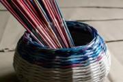 Фото 8 Плетение корзин из газетных трубочек: мастер-классы и советы для рукодельниц