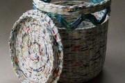Фото 13 Плетение корзин из газетных трубочек: мастер-классы и советы для рукодельниц