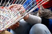 Фото 16 Плетение корзин из газетных трубочек: мастер-классы и советы для рукодельниц