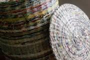 Фото 24 Плетение корзин из газетных трубочек: мастер-классы и советы для рукодельниц