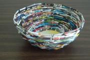 Фото 4 Плетение корзин из газетных трубочек: мастер-классы и советы для рукодельниц