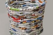 Фото 27 Плетение корзин из газетных трубочек: мастер-классы и советы для рукодельниц