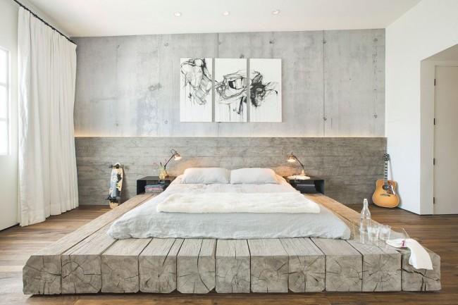 Современный стиль в оформлении спальни один из самых популярных и часто используемых