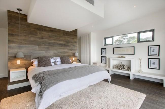 Мебель в такой комнате должна быть выполнена предпочтительно из натуральных материалов