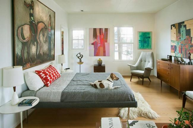 Комфортная кровать - это центральный объект каждой спальни