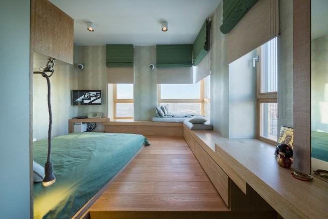 Комфорт и простор - главные принципы современного стиля