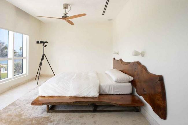 Интерьер спальни в стиле минимализм - это минимум использования мебели и различного декора