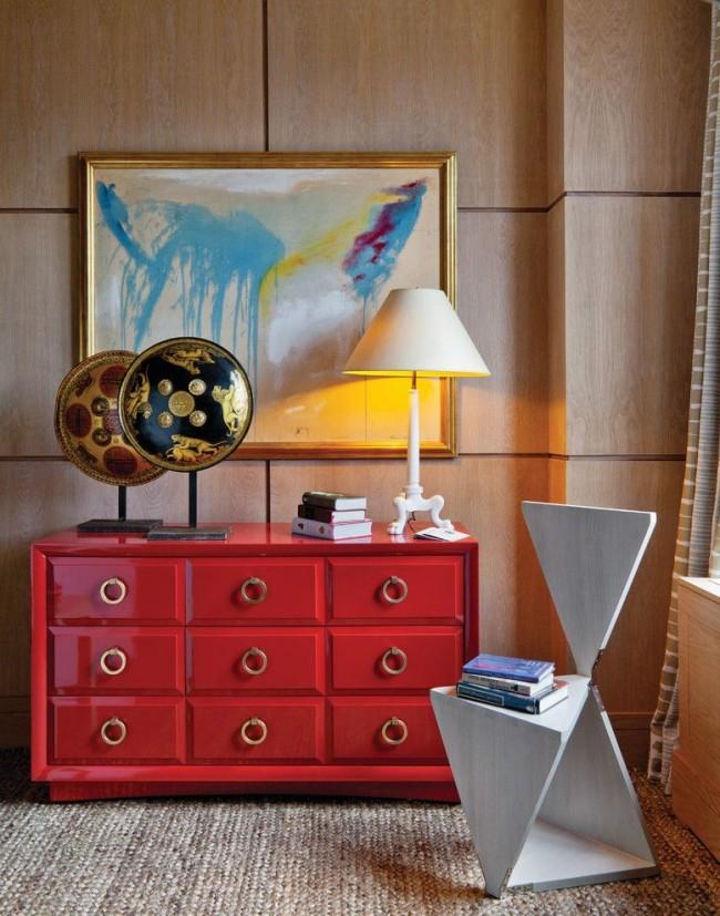 Оригинальные ручки-кольца станут яркой деталью, украшающей мебель