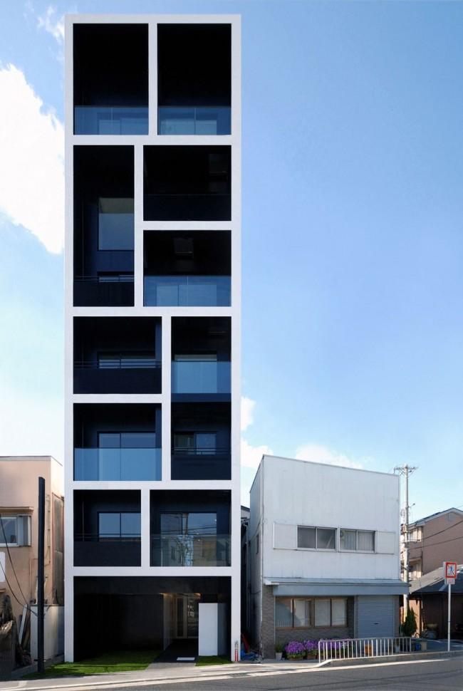 Модульный дом в стиле минимализм