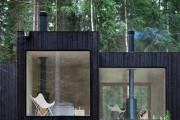 Фото 19 Модульные дома для постоянного проживания (63 фото): эволюция от угловатой бытовки до элитного жилья