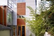Фото 9 Модульные дома для постоянного проживания (63 фото): эволюция от угловатой бытовки до элитного жилья