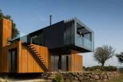Фото 1 Модульные дома для постоянного проживания (63 фото): эволюция от угловатой бытовки до элитного жилья