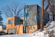 Фото 5 Модульные дома для постоянного проживания (63 фото): эволюция от угловатой бытовки до элитного жилья