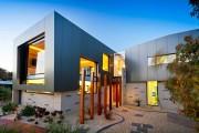 Фото 10 Модульные дома для постоянного проживания (63 фото): эволюция от угловатой бытовки до элитного жилья