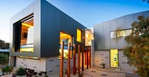 Модульные дома для постоянного проживания (63 фото): эволюция от угловатой бытовки до элитного жилья фото