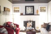 Фото 8 Натяжные потолки для зала (62 фото): выбор материала и стиля