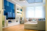 Фото 9 Натяжные потолки для зала (62 фото): выбор материала и стиля