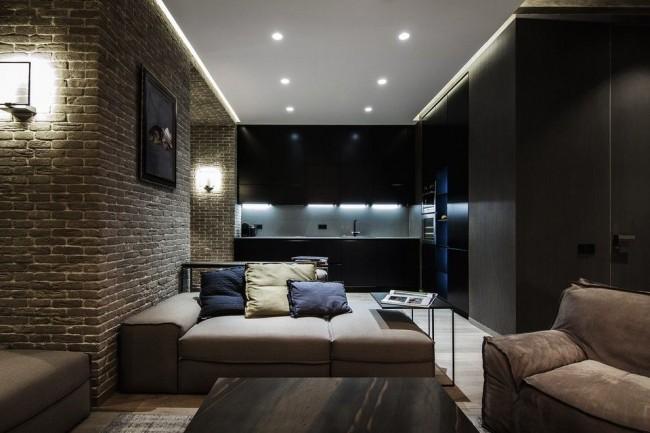 Натяжной потолок поможет подчеркнуть стиль вашего дизайна