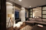 Фото 10 Натяжные потолки для зала (62 фото): выбор материала и стиля