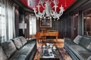 Фото 1 Натяжные потолки для зала (62 фото): выбор материала и стиля