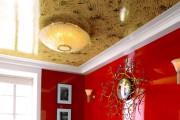 Фото 2 Натяжные потолки для зала (62 фото): выбор материала и стиля