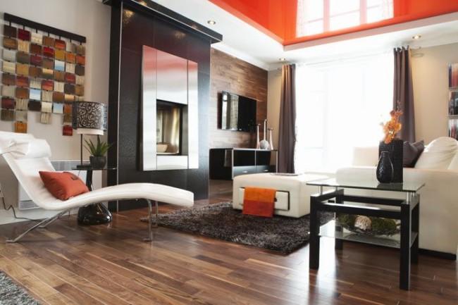 Натяжные потолки очень прочны и экологически чисты