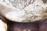Фото 5 Натяжные потолки для зала (62 фото): выбор материала и стиля