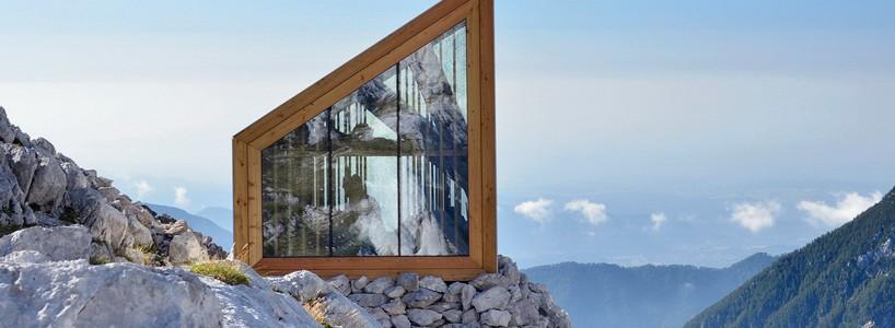 Уникальный приют для альпинистов в Словении