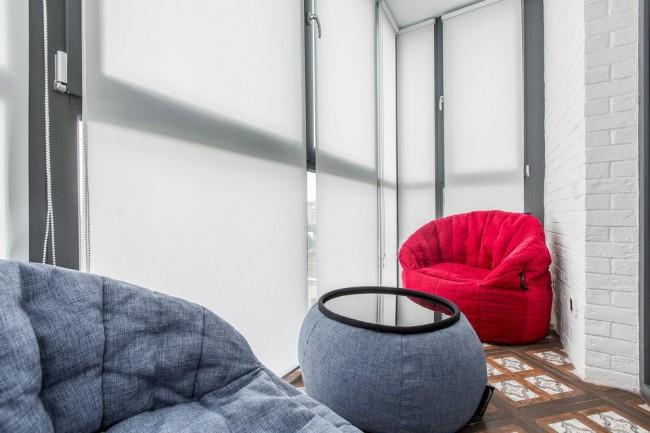 Теплое остекление позволит создать более комфортные условия на вашем балконе