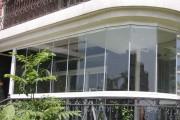 Фото 5 Остекление балконов и лоджий алюминиевым профилем (54 фото): отзывы, плюсы и минусы