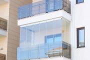 Фото 21 Остекление балконов и лоджий алюминиевым профилем (54 фото): отзывы, плюсы и минусы