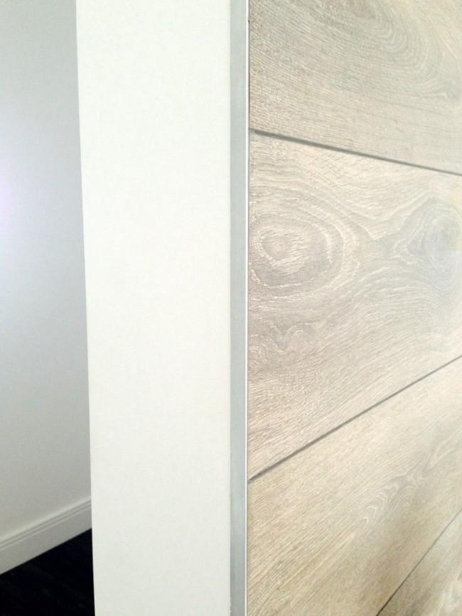Шпонированные панели МДФ прекрасно имитируют натуральную древесину