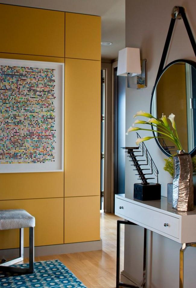 МДФ панели, окрашенные красками, имеют огромный ассортимент оттенков