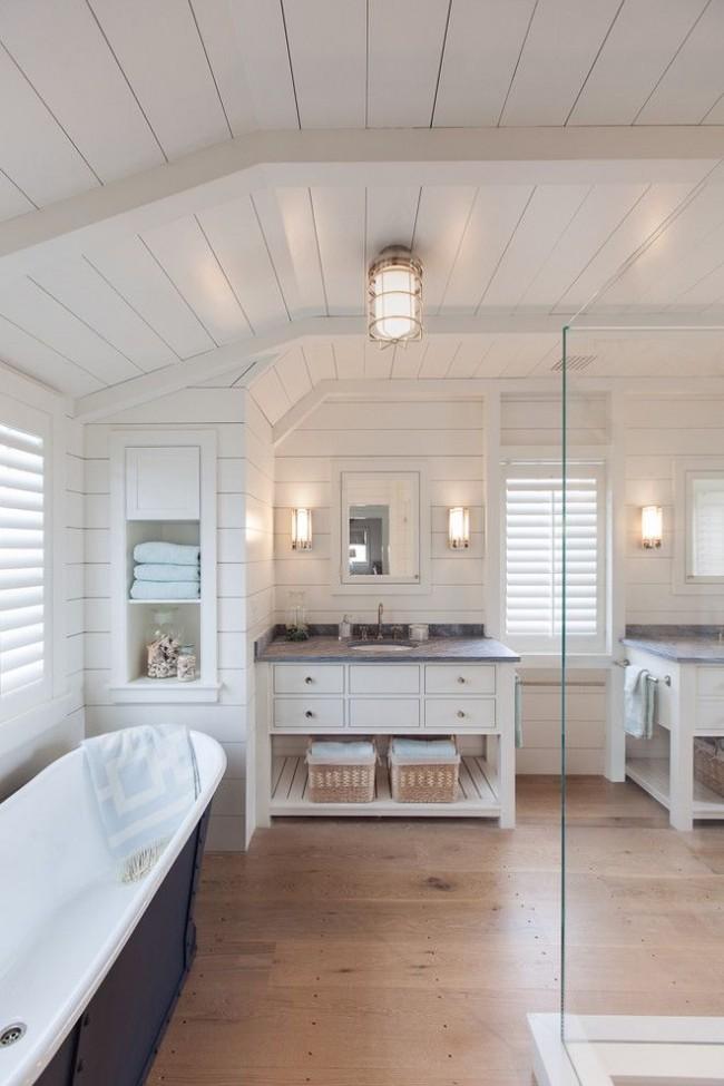 Благодаря своим свойствам МДФ панели отлично подойдут и для ванной комнаты