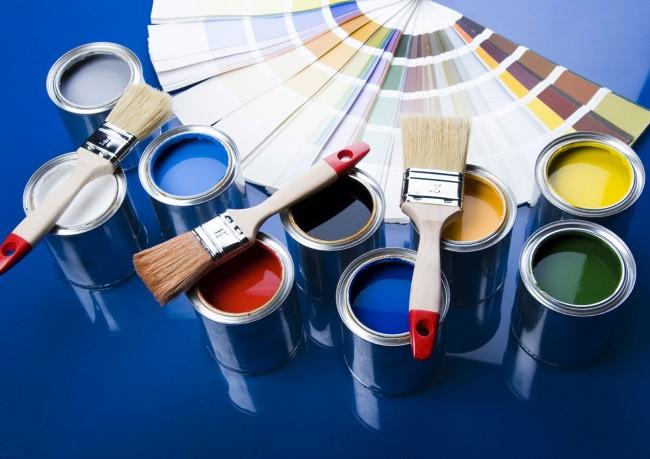 Водоэмульсионные краски легко можно колеровать в самые разные оттенки