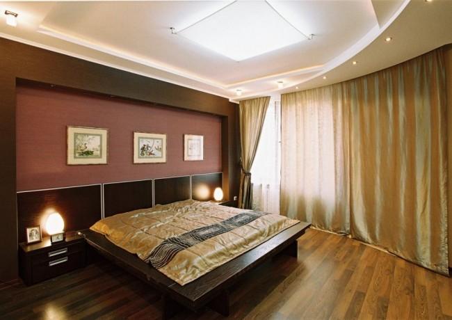 Разнообразие гипсокартонных конструкций позволяет оформить потолок даже в не очень высоких помещениях