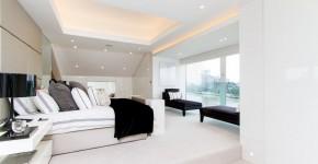 Потолки из гипсокартона для спальни (80 фото): мир комфорта и стиля фото